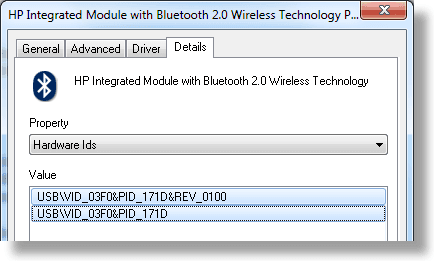 intel bluetooth driver for windows 10 hp