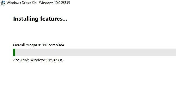 Installing Windows 10 Kit