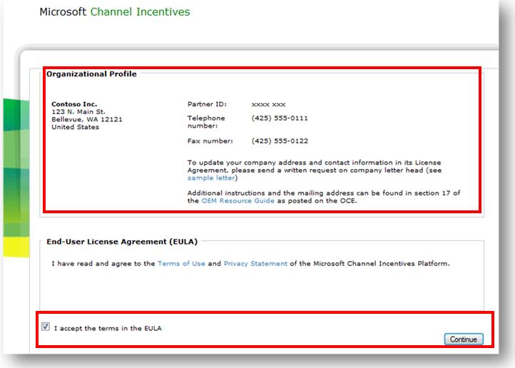 Microsoft CHIP Organization details