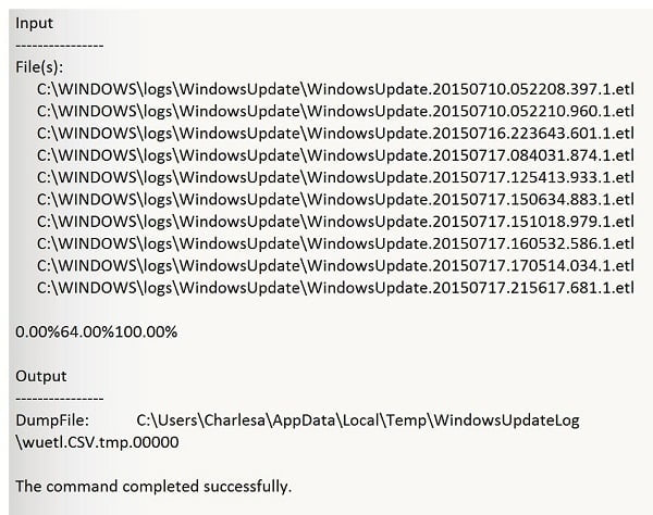 Powershell Windows 10 update