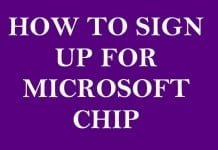 How to Sign Up for Microsoft Channel Incentives Platform CHIP