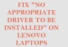 [Fix] No Appropriate Driver to be installed for WiFi on Lenovo G50-70 Laptop