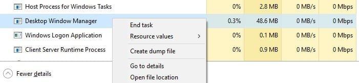 Desktop Windows Manager