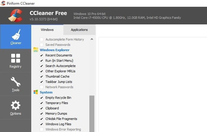 Download CCleaner Free for Windows 10 from CNET & Filehippo