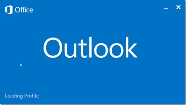 Fix Outlook 2013 Loading Profile