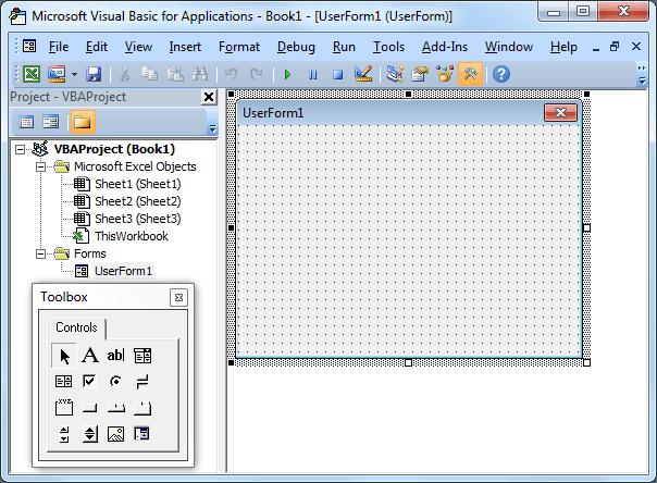 Fix Excel UserForm Size