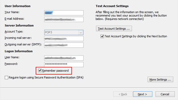 remember password in outlook - Fix Microsoft Outlook Repeatedly Keeps Asking for a Password