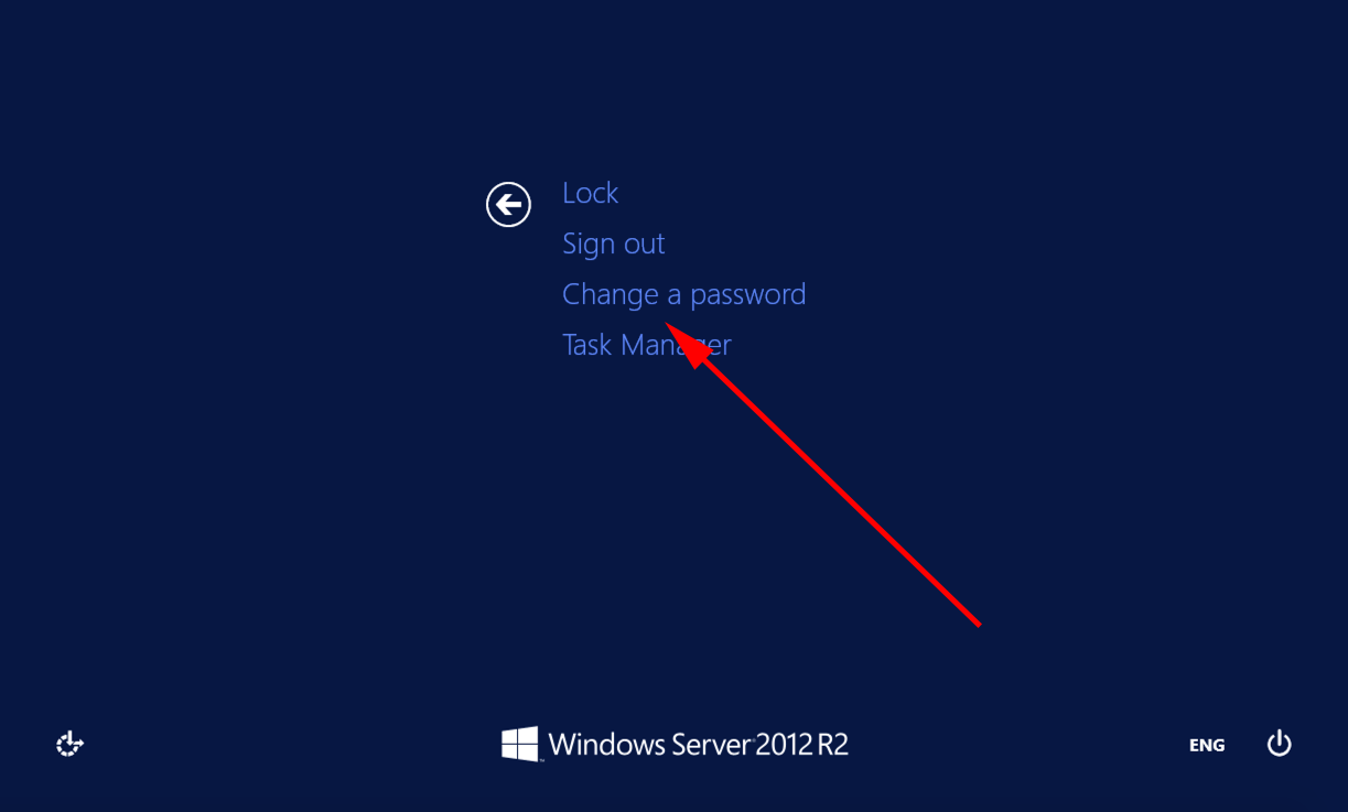 How to Change Password in RDP Session in Windows Server